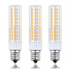 Dimmable LED E17 Intermediate Appliance Light Bulb, 8.5W - 100W Halogen Bulb Equivalent(3pieces/pack)