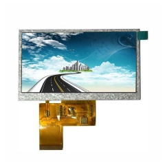 TFT LCD Screen 4.3inch 480*272 RGB 40pin optional touch screen