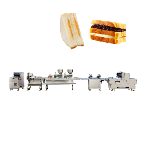 YIREN Hot sale automatic industrial toast bread 3+2 sandwich making machine production line