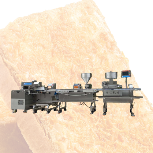 Industrial baking equipment salad meat floss cream toast bread processing machine production line