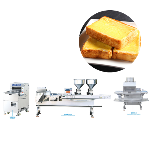 Toast Two Colour Sandwich bread making machine Production Line