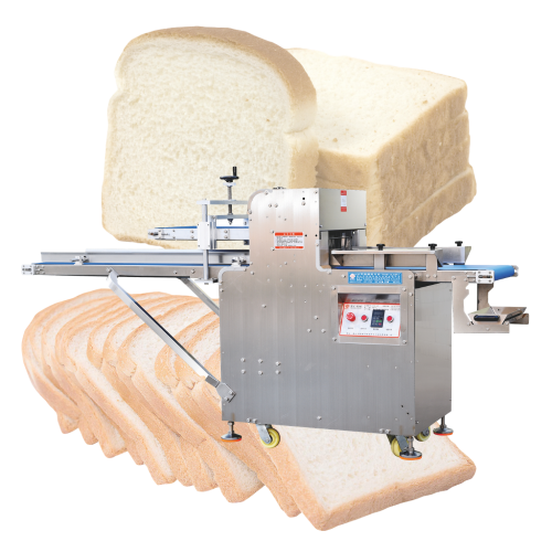 Fast Efficiency continous auto toast and bread slicer slicing cutting machine