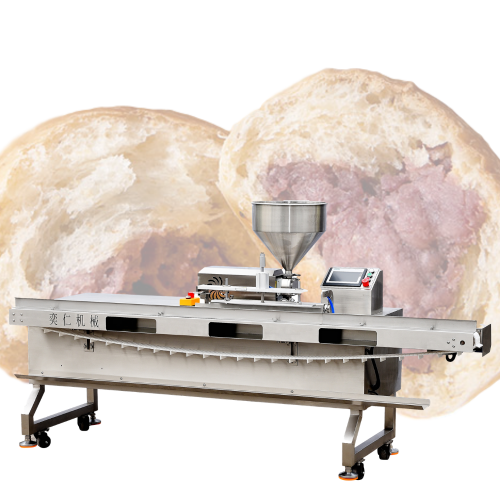 Automatic Sandwich Maker Cake Filling Injector Cream Butter Stuffing Bread Filling Baking Machine