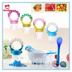 Baby Fruit Feeder with Rattle Handle