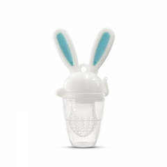 Rabbit Design Silicone Fresh Food Feeder