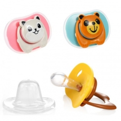 BPA Free Cartoon Infant Baby Pacifier
