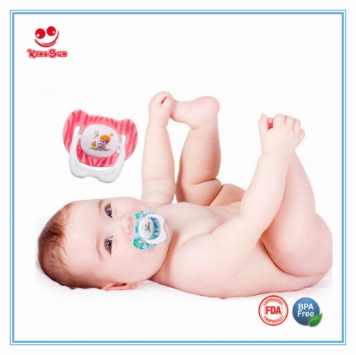 New Cartoon Gift Kids Teething Pacifier for Baby Care