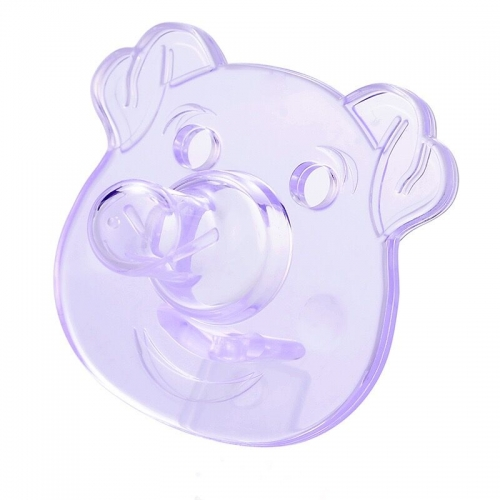 New Animal Cartoon Pure Silicone Baby Sleeping Pacifier