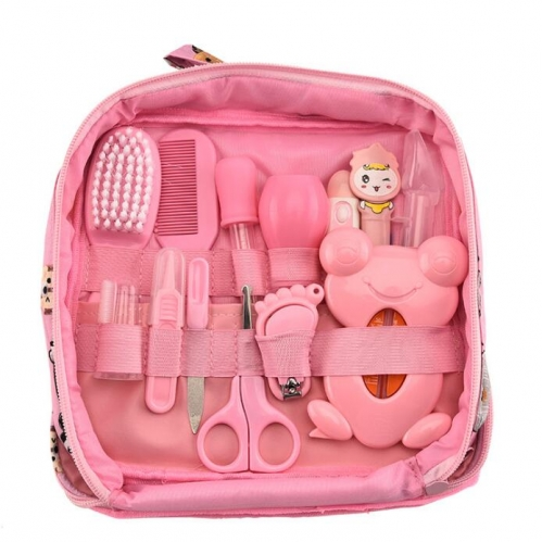 Baby Grooming Kits with Fabric Bag 13PCS