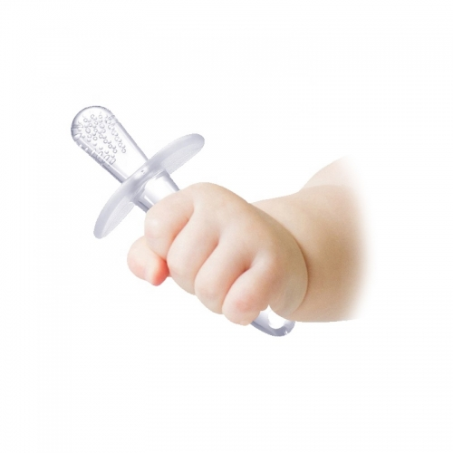 Transparent Liquid Silicone Baby Teether