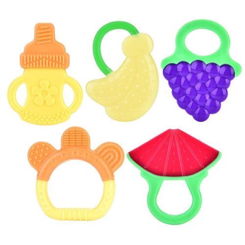 Fruit Shape Silicone Baby Teethers