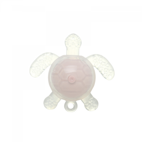 New Design Rattle Silicone Turtle Teether