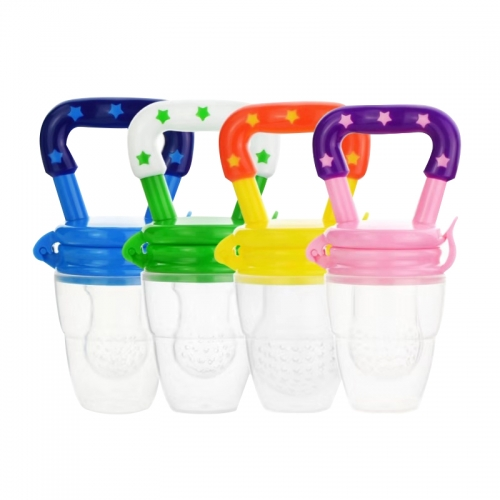 BPA Free Colorful Fresh Fruit Feeder for Baby