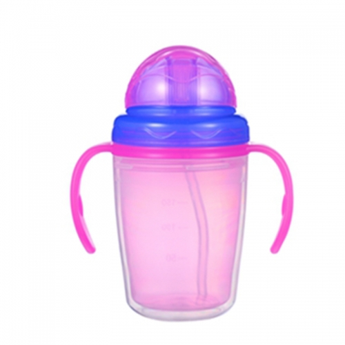 250ml Double Wall Baby training Water Bottle