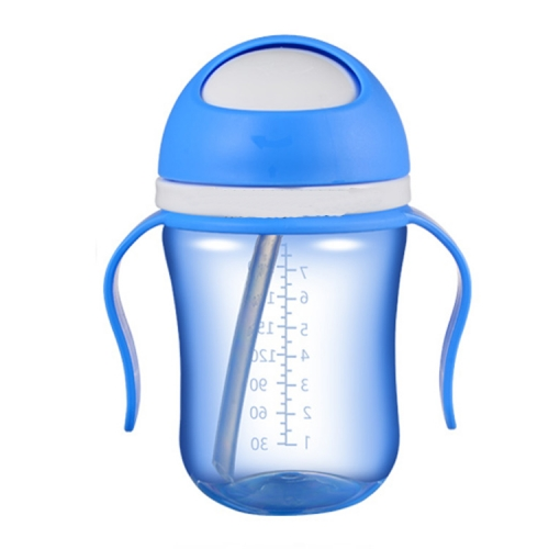 240ml Baby Sports Water Bottle with Straw