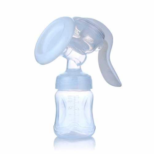 Advanced Manual Breast Pump with Wide Neck Bottle