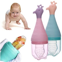 Animal Cartoon Newborn Fruit and Food Nutritional Feeder