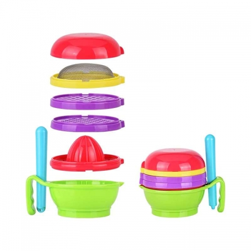 7 in 1 Baby Food Grinding Bowl Set