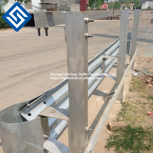 highway rail splice bolt for guardrail