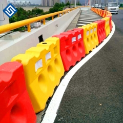 PE Material Molding Traffic Road Safety Plastic Flood Water Filled Barrier