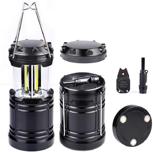 Moobibear 300lm COB Technology Battery Powered Portable Lantern Light