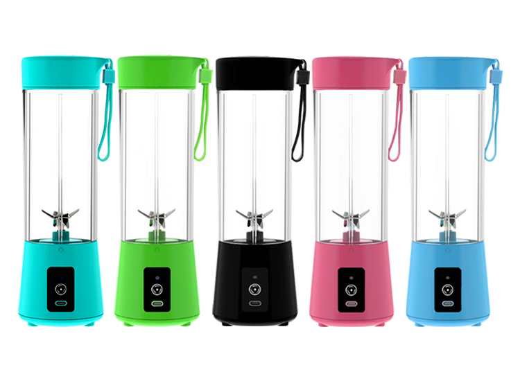 Rechargeable USB Mini Juice Portable Blender With Six Blades Wholesale