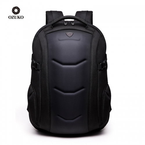 Ozuko 8980 Mochila Hombre Laptop Para Moto Japanese School Bags For Teenagers Trendy Luxury Anti Theft Hard Shell Backpack