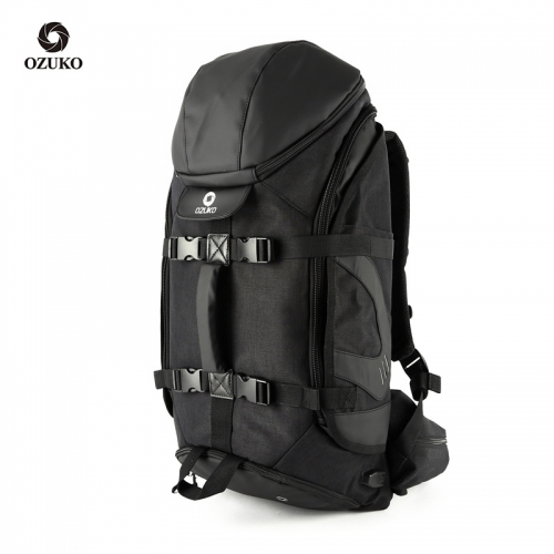 Ozuko 9008 New Waterproof Laptop Fashion Outdoor Sport  Traveling Men Travel Backpack