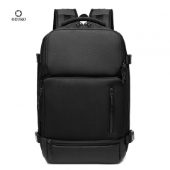 Ozuko 9405 Factory Business Travel Back Pack Bagpack Waterproof With Usb Charging  Backpack