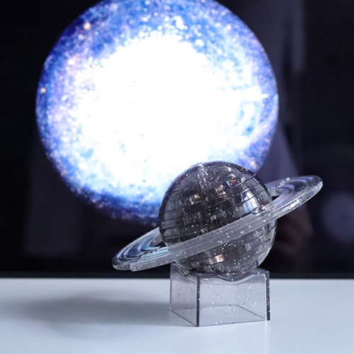 Star 3D puzzle Crystal Blocks Saturn Display