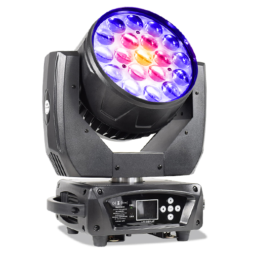LED Zoom Waschen 19X15W Moving Head DMX DJ Lichter
