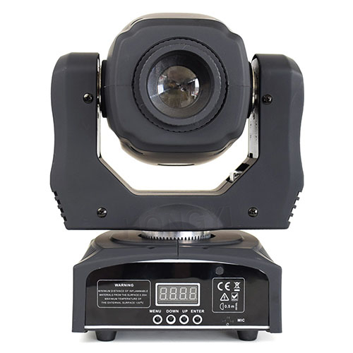 New Design Moving Head Led 60W Lyre Spot Light With Gobo 3 Face Prism Rotation Dj Stage Light