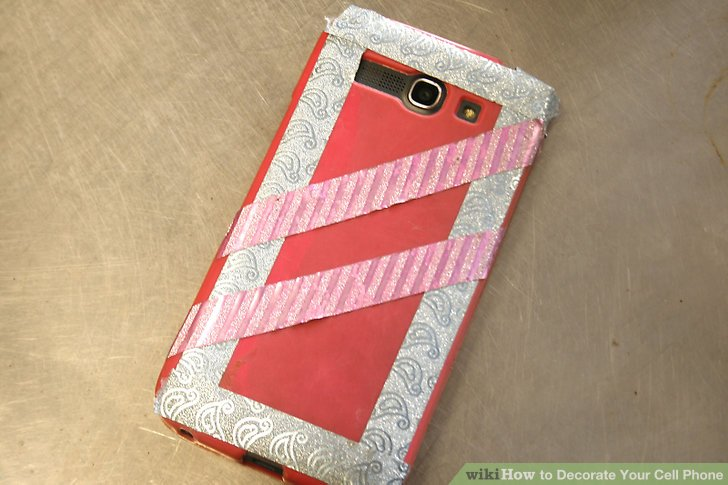 How to Decorate Your Cell Phone