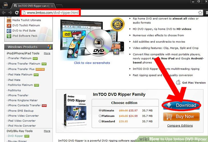 How to Use Imtoo DVD Ripper