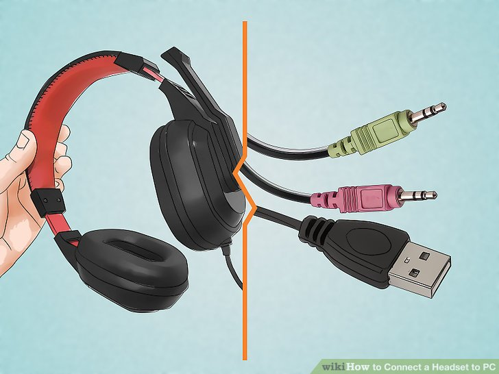 How to Connect a Headset to PC