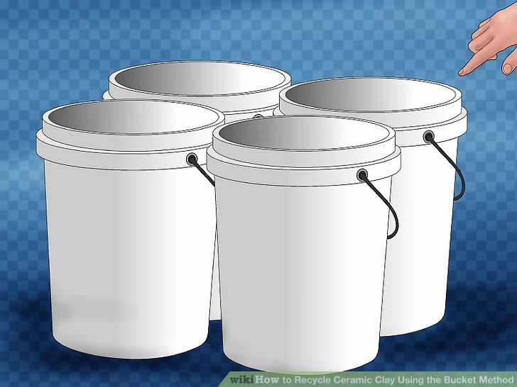 How to Recycle Ceramic Clay Using the Bucket Method