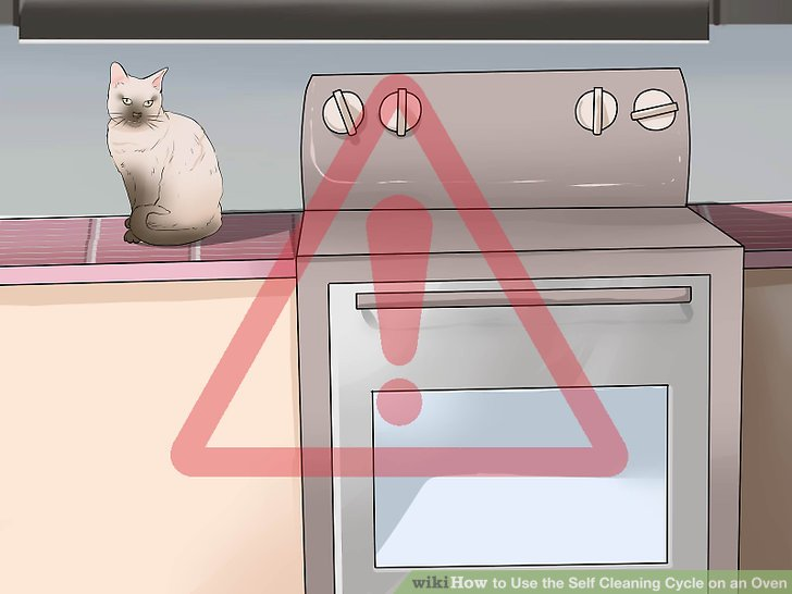 How to Use the Self Cleaning Cycle on an Oven