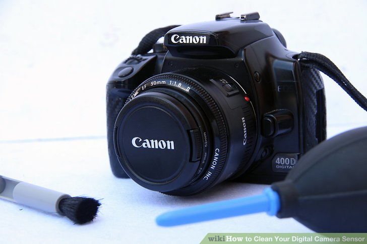 How to Clean Your Digital Camera Sensor
