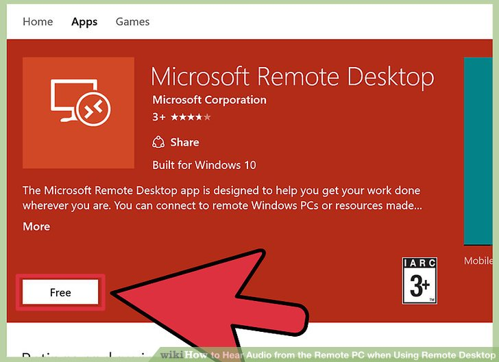 How to Hear Audio from the Remote PC when Using Remote Desktop