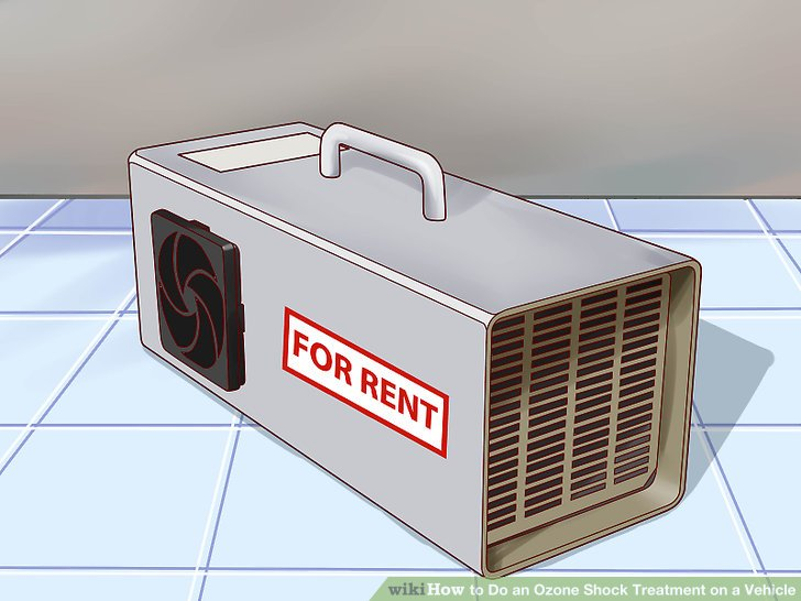 How to Do an Ozone Shock Treatment on a Vehicle