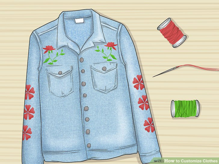 How to Customize Clothes