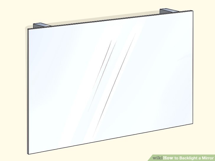 How to Backlight a Mirror