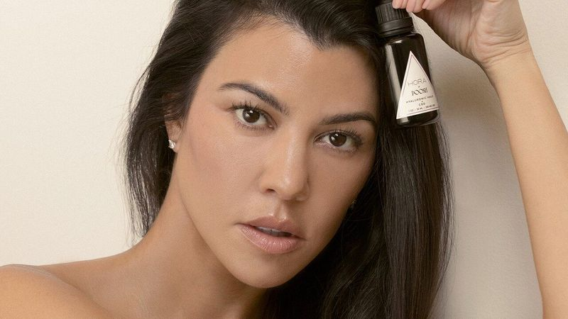 Kourtney Kardashian\'s New Skincare Product Is Vegan and Glow-Inducing
