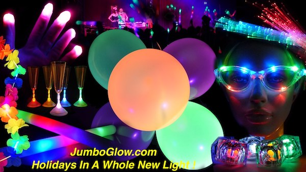 JumboGlow.com - Your Reliable Supplier of LED Light-ups from China mainland !