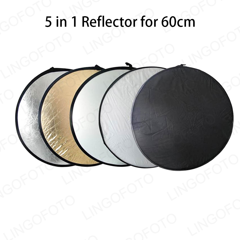 5-in-1 Photography Studio Multi Photo  Collapsible Light Reflector LC6101